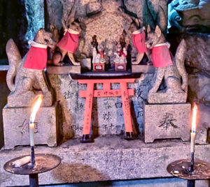 Wolfs-Schamanismus - Wolf Ninja Magie Kuji Kiri Magischer Altar
